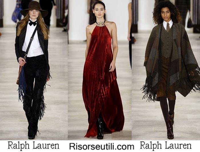 Fashion brand Ralph Lauren fall winter 2016 2017