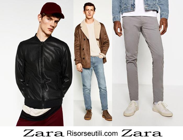 Fashion brand Zara fall winter 2016 2017 menswear
