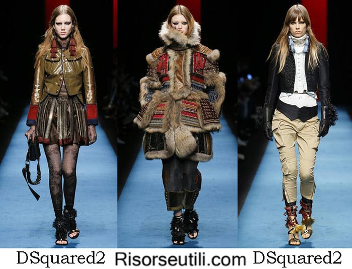 Fashion clothing DSquared2 fall winter 2016 2017