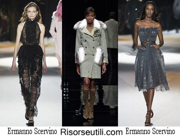 Fashion clothing Ermanno Scervino fall winter 2016 2017