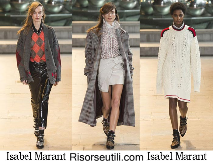 Fashion clothing Isabel Marant fall winter 2016 2017