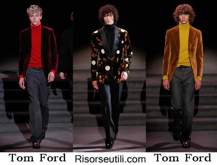 Fashion clothing Tom Ford fall winter 2016 2017 men