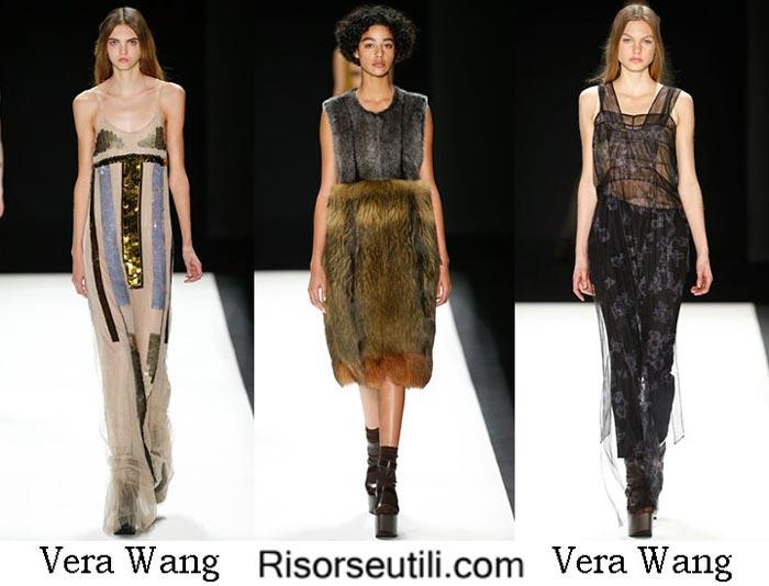 Fashion clothing Vera Wang fall winter 2016 2017