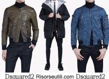 Jackets Dsquared2 fall winter 2016 2017 menswear