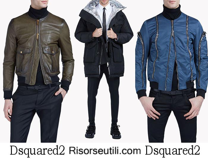 Jackets Dsquared2 fall winter 2016 2017 menswear