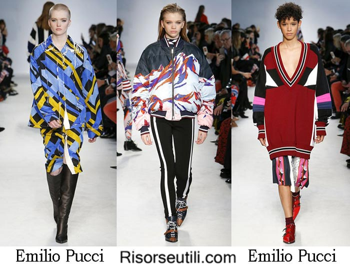Lifestyle Emilio Pucci fall winter 2016 2017 for women