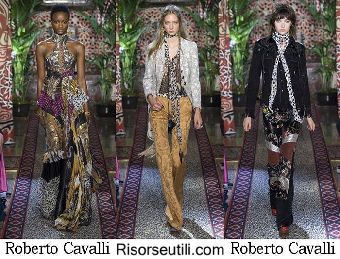 Roberto Cavalli spring summer 2017