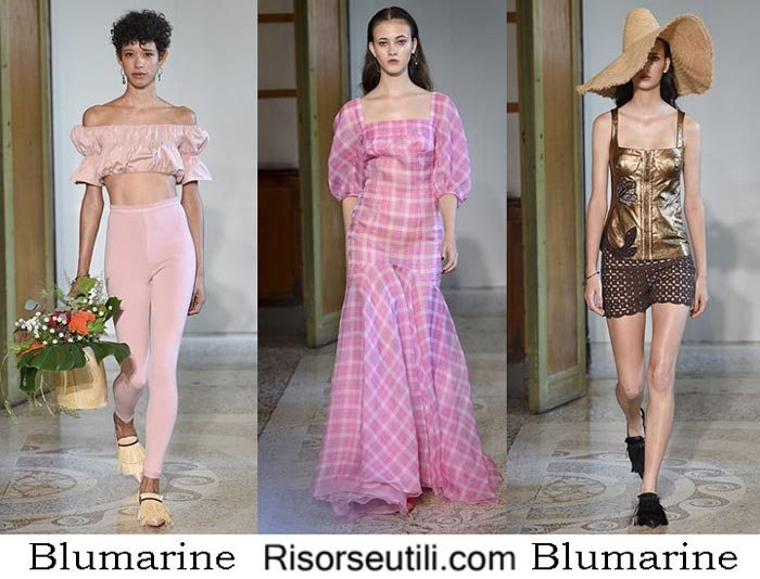 Blumarine spring summer 2017 lifestyle for women