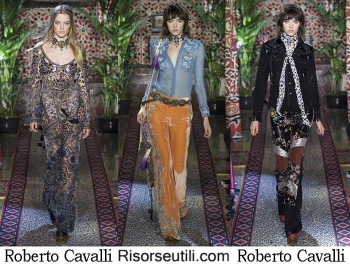 Fashion show Roberto Cavalli 2017