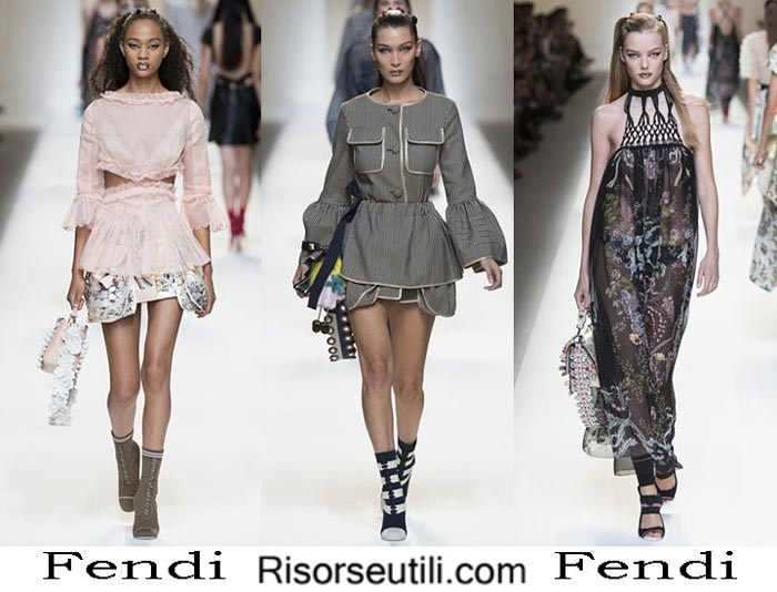 Fendi spring summer 2017 fashion show for women