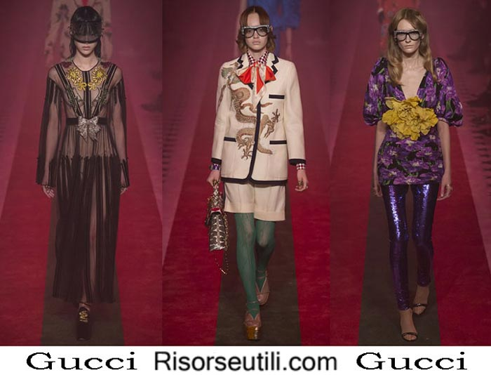 Gucci spring summer 2017 lifestyle for women look