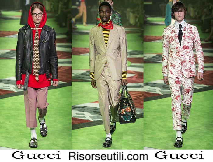 Gucci spring summer 2017 fashion clothing for men