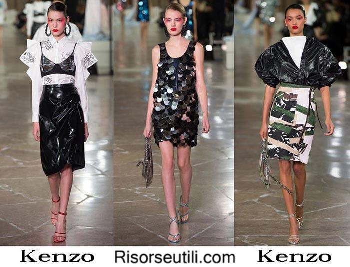 Kenzo spring summer 2017 fashion clothing for women