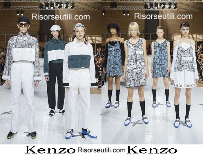 Kenzo spring summer 2017 lifestyle men and women