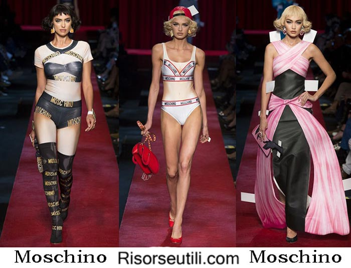 Moschino spring summer 2017 fashion brand for women