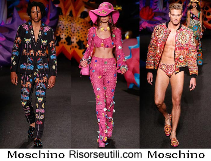 Moschino spring summer 2017 lifestyle men women