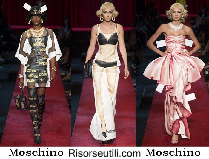 Moschino spring summer 2017 fashion show for women