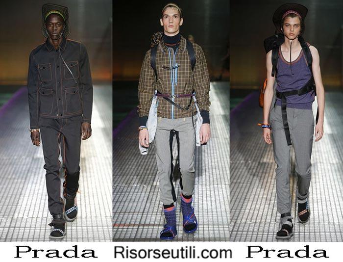 Prada spring summer 2017 fashion clothing for men