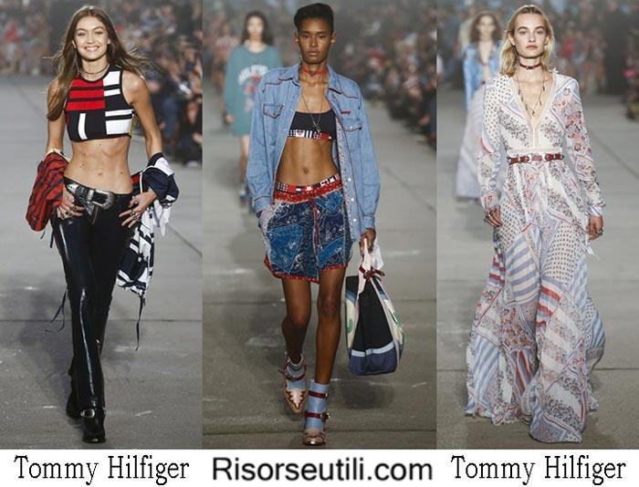 Tommy Hilfiger spring summer 2017 fashion brand for women