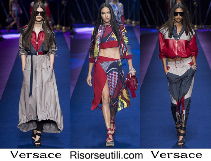 Versace spring summer 2017 lifestyle for women