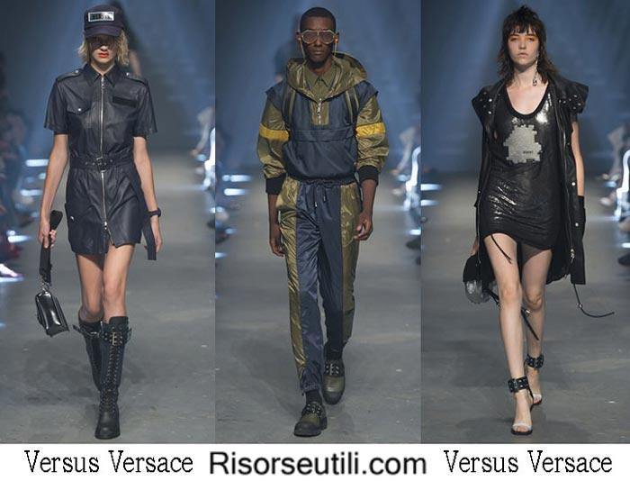 Versus Versace spring summer 2017 fashion show women men