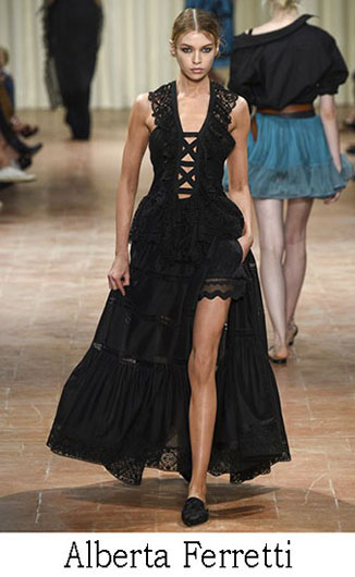 Alberta Ferretti spring summer 2017 fashion brand 19