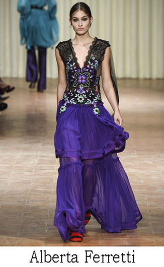 Alberta Ferretti spring summer 2017 fashion brand 2