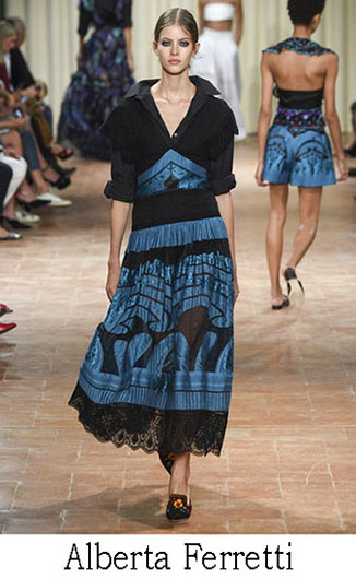 Alberta Ferretti spring summer 2017 fashion brand 22