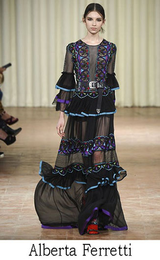 Alberta Ferretti spring summer 2017 fashion brand 9