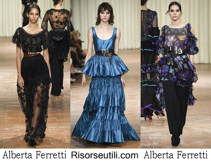 Alberta Ferretti spring summer 2017 fashion show for women