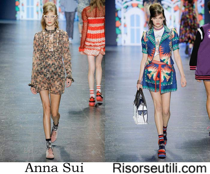 Accessories Anna Sui spring summer 2017
