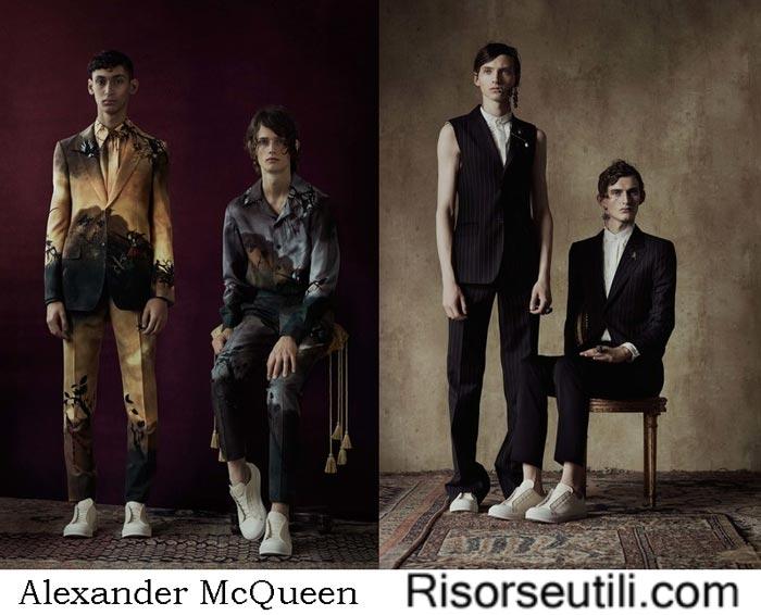 Alexander McQueen spring summer 2017 fashion show for men