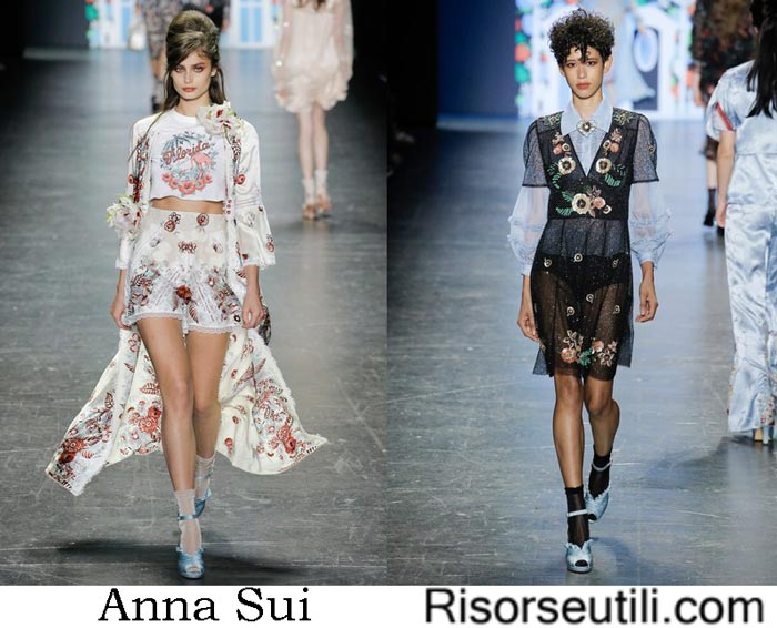 Anna Sui spring summer 2017 fashion show for women