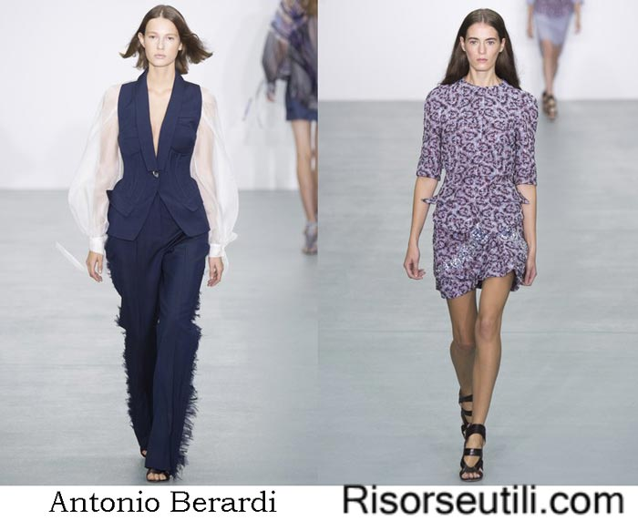 Antonio Berardi spring summer 2017 fashion show for women