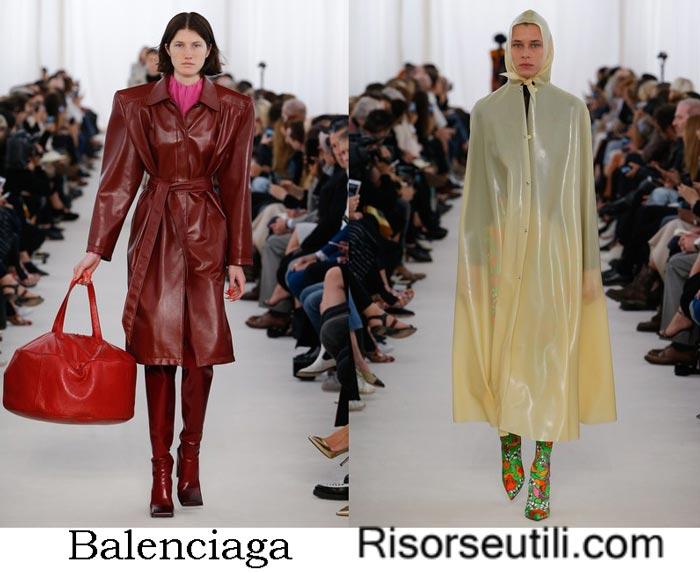 Balenciaga spring summer 2017 fashion show for women