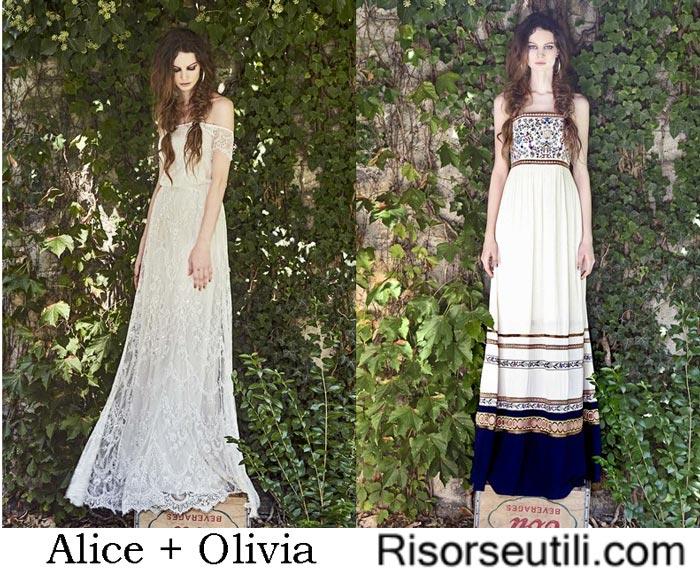 Brand Alice + Olivia spring summer 2017