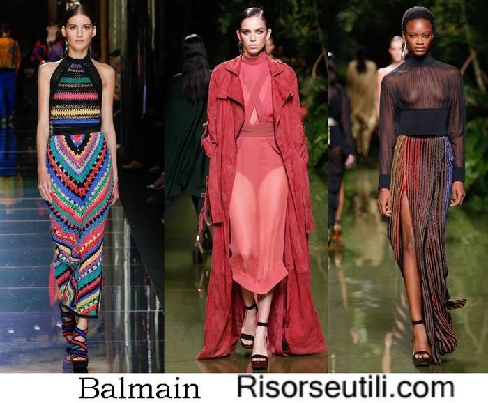 Brand Balmain spring summer 2017
