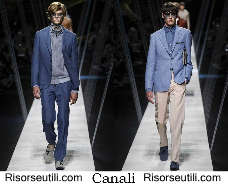 Canali spring summer 2017 fashion show for men