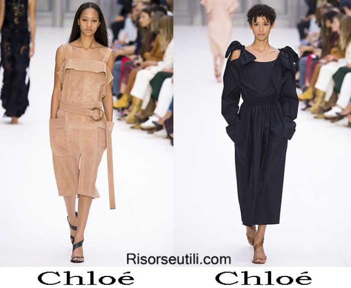 Chloé spring summer 2017 fashion show for women