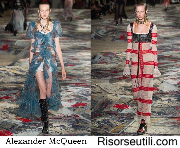 Clothes Alexander McQueen spring summer 2017