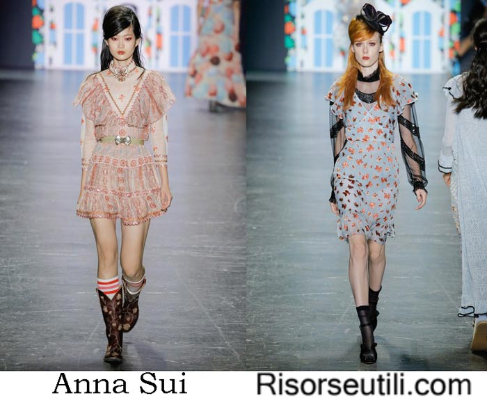 Clothes Anna Sui spring summer 2017