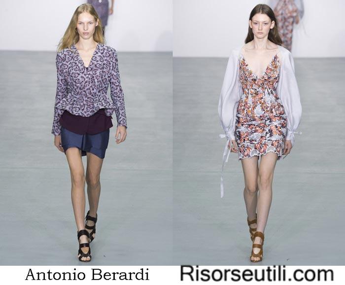 Clothes Antonio Berardi spring summer 2017