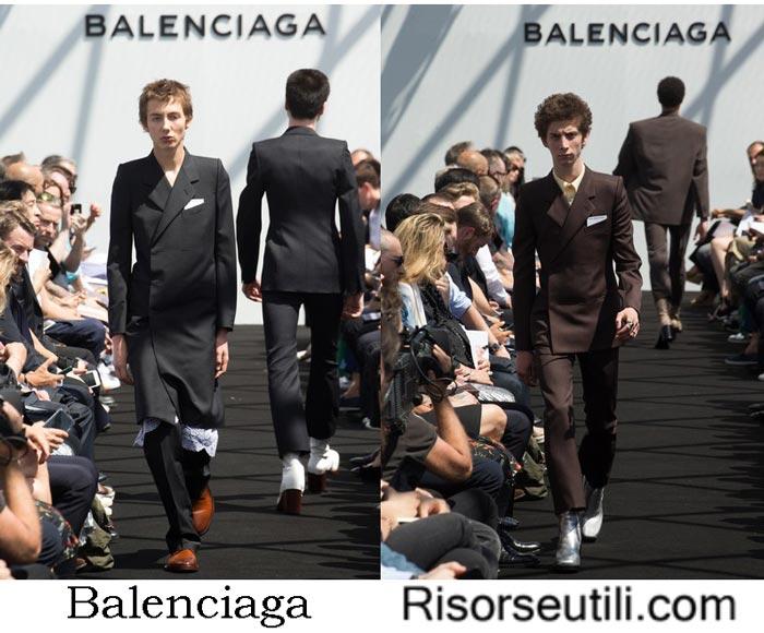 Clothes Balenciaga spring summer 2017