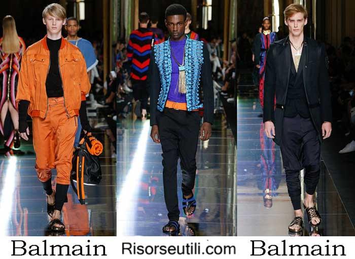 Clothes Balmain spring summer 2017