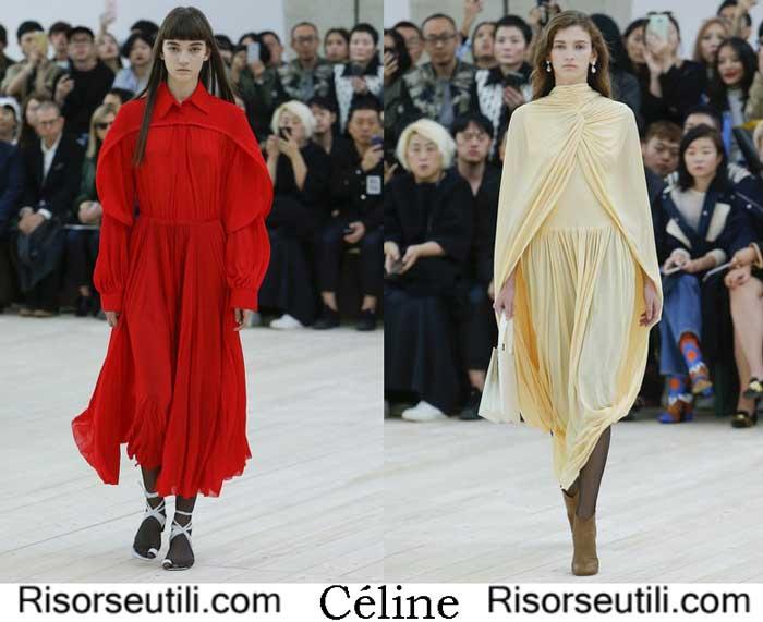 Clothes Céline spring summer 2017