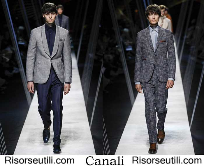 Clothes Canali spring summer 2017