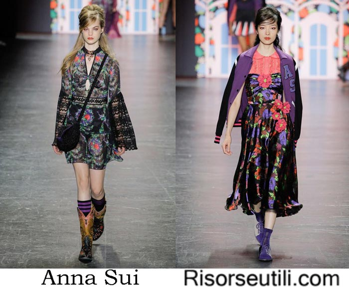 Clothing Anna Sui spring summer 2017