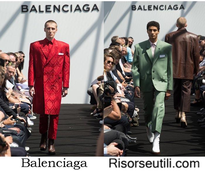Clothing Balenciaga spring summer 2017