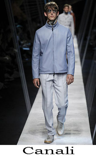 Clothing Canali spring summer 2017