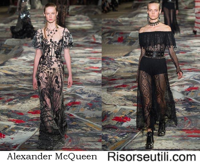 Collection Alexander McQueen spring summer 2017
